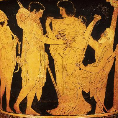 La crianza de los niños en la Antigua Grecia
