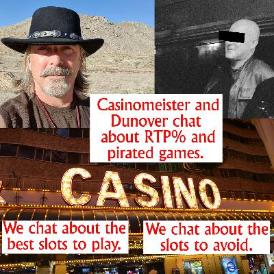 Slot RTP percentages and pirated games discussion with Dunover