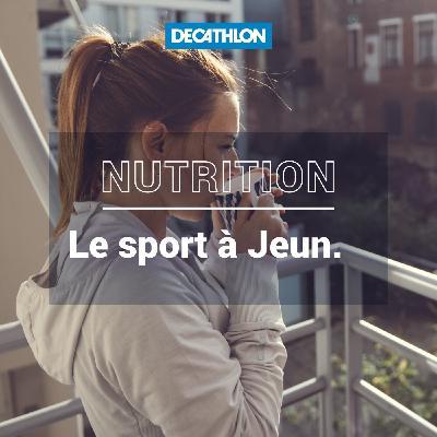 # 42 Nutrition - Le sport à jeun, on vous dit tout !