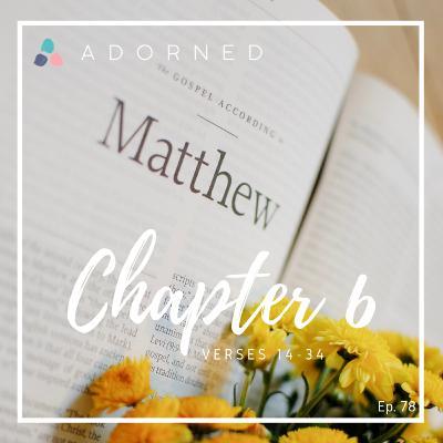 Ep. 78 - Matthew - Chapter 6 - verses 14-34
