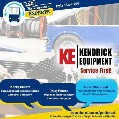 Episode #044: Kendrick Equipment Discusses Their Zamboni Service Program