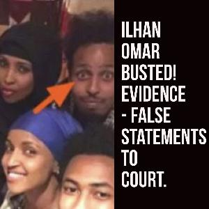Ilhan Omar Busted! New Evidence – False Statements to Court