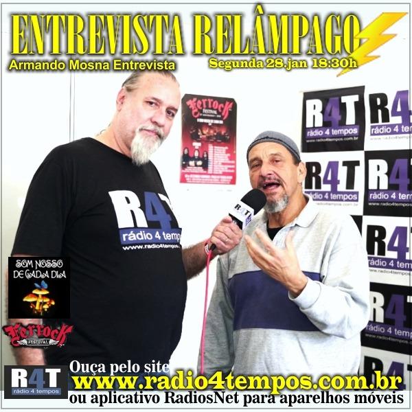 Rádio 4 Tempos - Entrevista Relâmpago 75