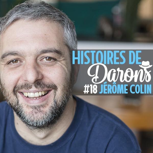 Jérôme Colin, et le Champ de Bataille avec ses 3 ados