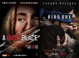 Episode 114 – A Quiet Place & Bird Box