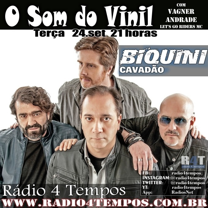 Rádio 4 Tempos - Som do Vinil 16:Rádio 4 Tempos