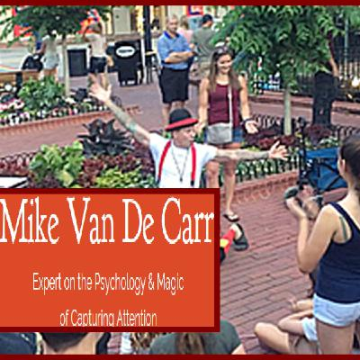 Magician Mike Van De Carr