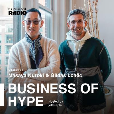 Masaya Kuroki and Gildas Loaëc of Maison Kitsuné