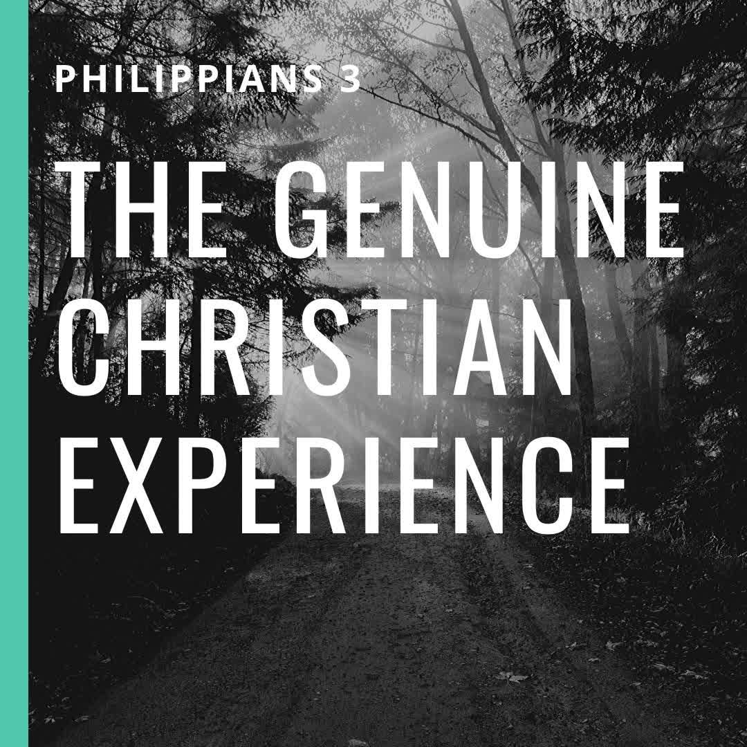 The Genuine Christian Experience: Sanctification (pt. 2)