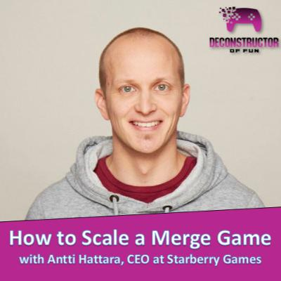How to Scale a Merge Game with Antti Hattara, CEO of Starberry Games