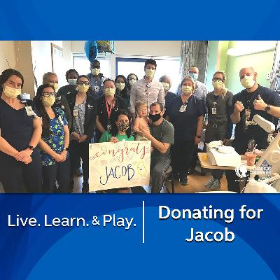 Donating for Jacob