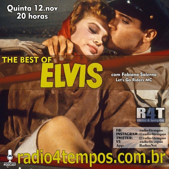 Rádio 4 Tempos - The Best of Elvis 123:Fabiana Salerno