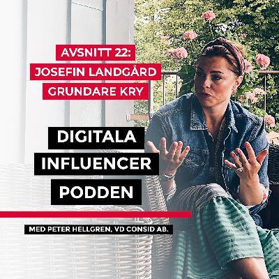 22. Josefin Landgård, grundare Kry – digitala vårdappar, den svenska health tech-scenen och framtidsspaningar