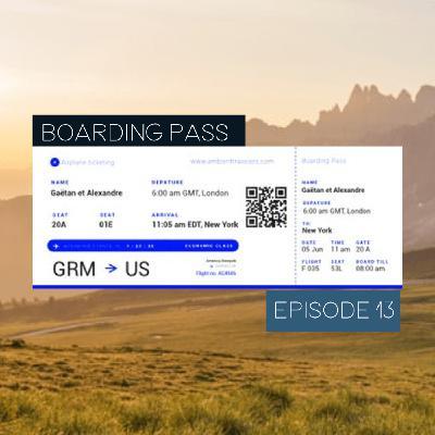 Boarding Pass 013 ✈️ Christian Löffler et Loon