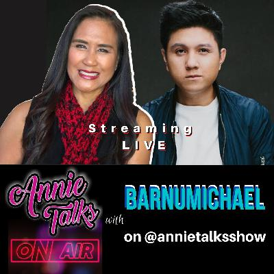 Episode 96 - Annie Talks with Michael Barnum | Twitch music streamer | Musician, singer/songwriter