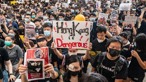Protests paralyzing Hong Kong could threaten the global economy