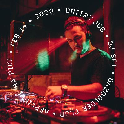 Dmitry JCB — DHM Podcast #881 (Live@Gazgolder Club, Applique Na Pike Night 2020)