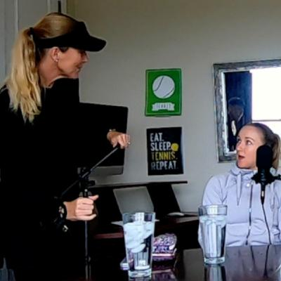 Interview with Professional Tennis Player Catherine Harrison and Coach Damien Spizzo
