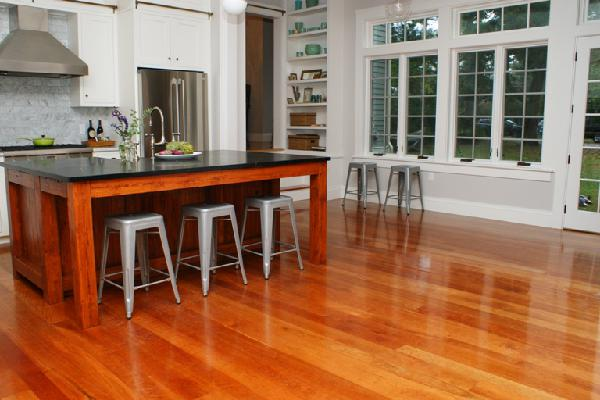 Trusted Hardwood Floors In Columbus - Cherry Wood Flooring - Gym Floor Refinishing