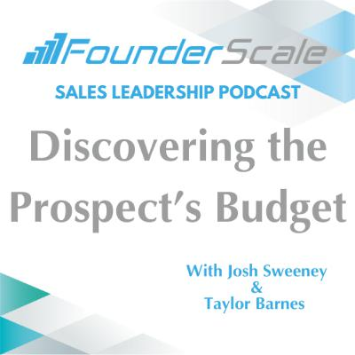 Episode 21: Discovering the Prospect's Budget