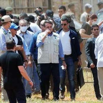 Episódio 12 - Bolsonaro gera aglomerações ao Visitar construção de um Hospital