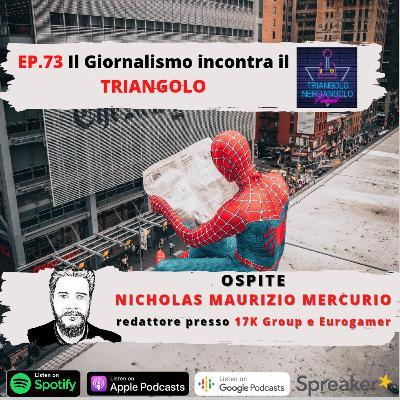 Parliamo di critica con Nicholas Mercurio redattore presso Eurogamer! - Ep 73