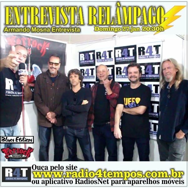 Rádio 4 Tempos - Entrevista Relâmpago 61
