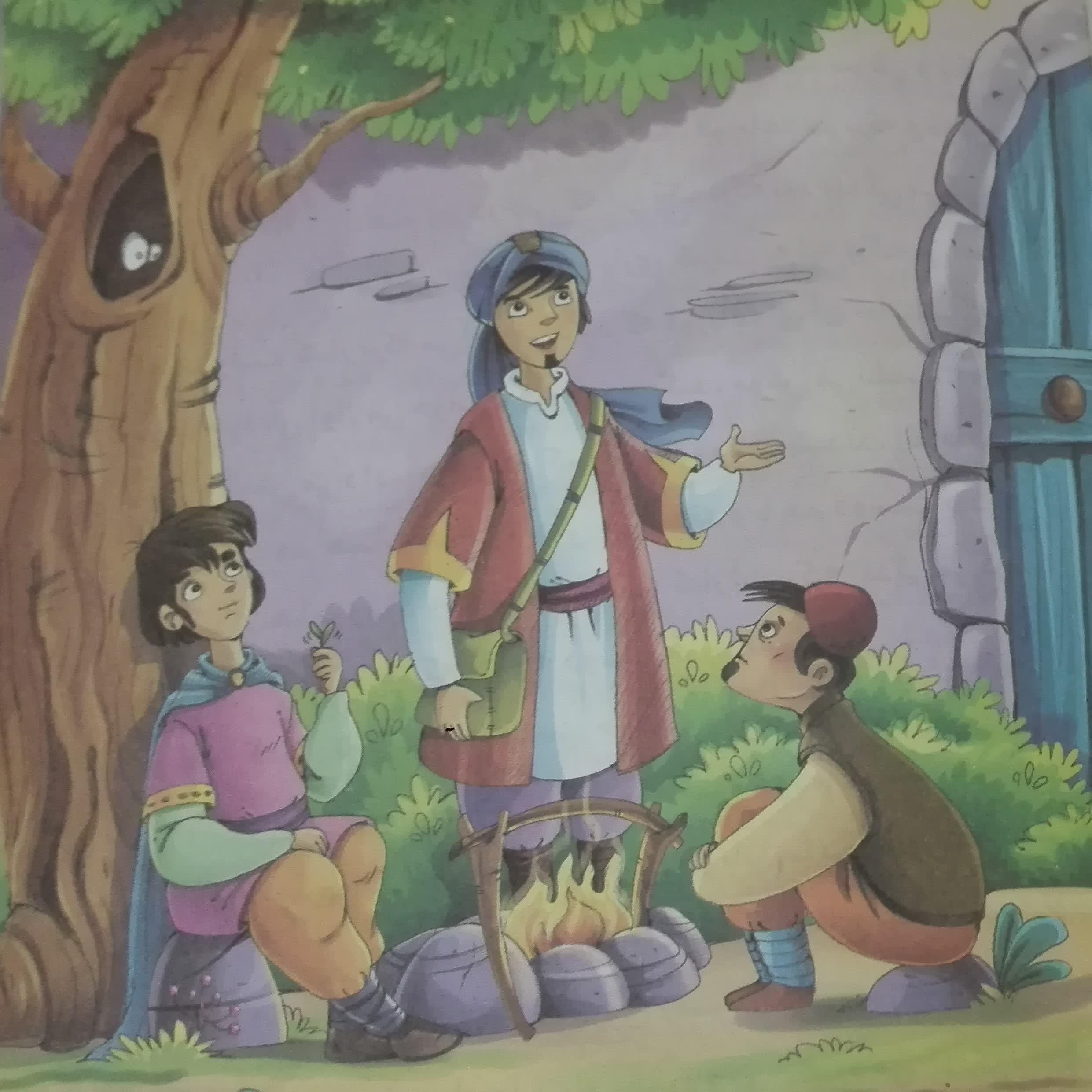 قصههای پندآموز کهن؛ شاهزاده و دوستانش