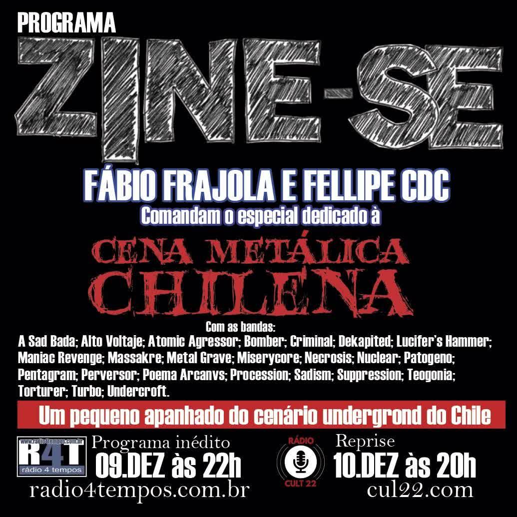 Rádio 4 Tempos - Zine-se 205:CdC e Frajola