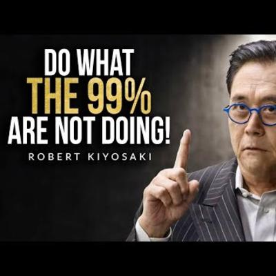 Motivational Podcasts | RICH VS POOR MINDSET - An Eye Opening Interview with Robert Kiyosaki