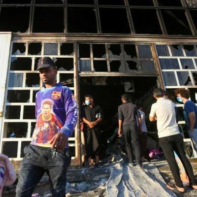 Death Toll in Iraq COVID Hospital Fire Rises (14.07.21)