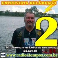 Rádio 4 Tempos - Entrevista Relâmpago 13