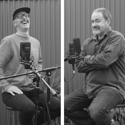 Episode 77: Darren O'Mahony, Dominic Black, Gerry McKeague and a Huge Thank-You (5-string banjo, guitar, singing)