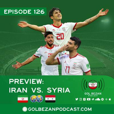 Preview: Iran vs. Syria