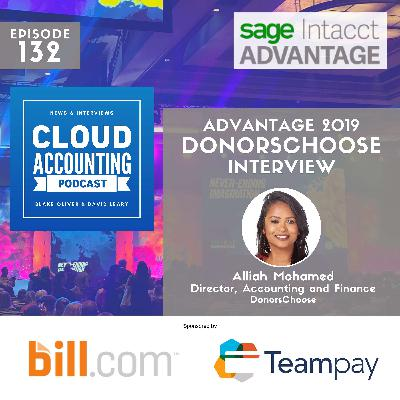 How DonorsChoose scaled to $100M+ on cloud ERP 🎙 Live at Sage Intacct Advantage