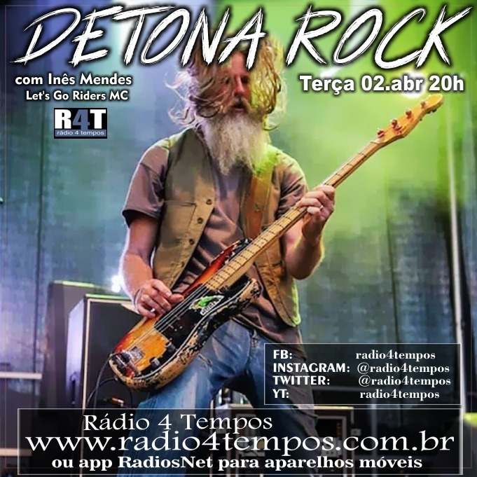 Rádio 4 Tempos - Detona Rock 09:Rádio 4 Tempos