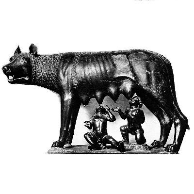 001- Romus ve Romulus'un Roma'yı Kurması Efsanesi
