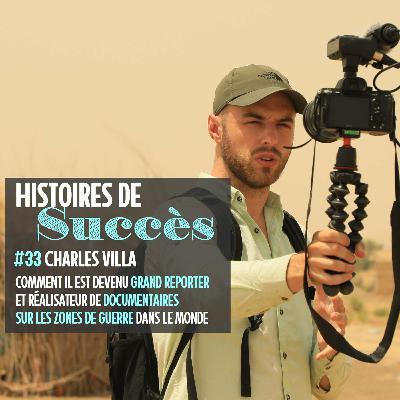 Charles Villa, reporter en zones de guerre