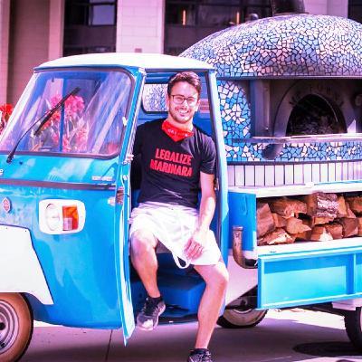 Interview with Alessio Lacco, Neapolitan pizza chef & mobile pizza Ape business entrepreneur in Atlanta - USA (ENGLISH)