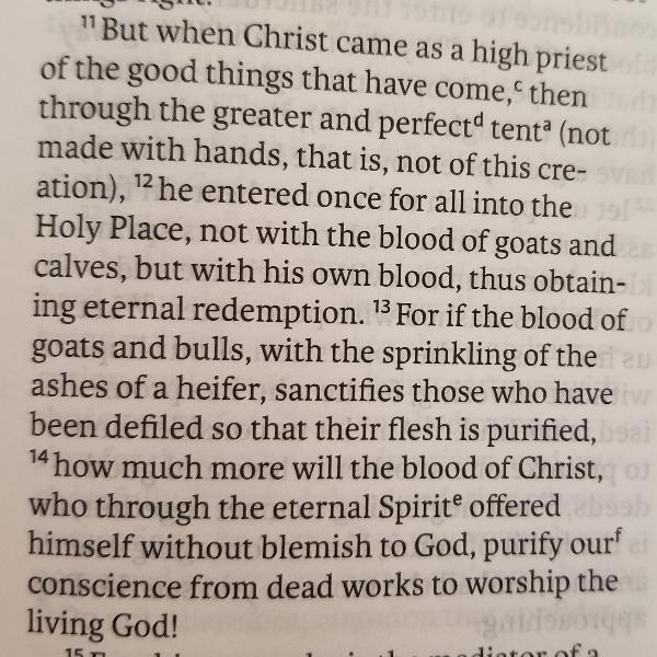 Rev. James Page, Jr., Sermon: The Blood of Jesus