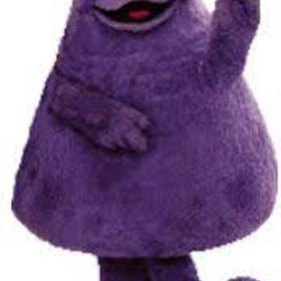 35 Year Old Origins Story, Answered, Grimace is a......