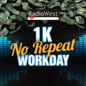 RadioWest's 1K No Repeat Workday - Double Winner Day - Leigh