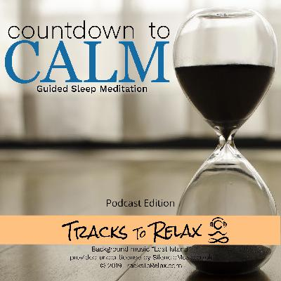 Countdown to calm sleep meditation