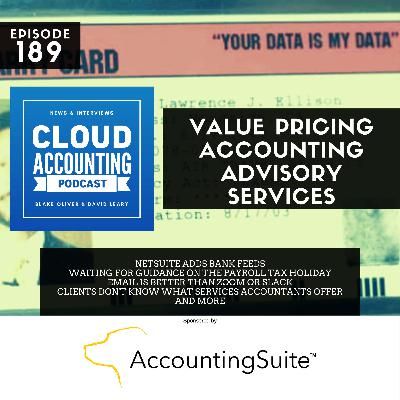 Value Pricing Accounting Advisory Services