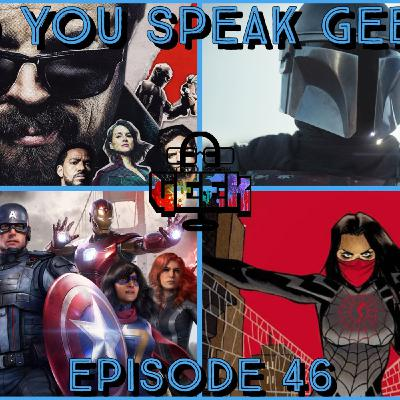 Episode 46 (The Mandalorian Season 2, Silk TV series, Marvel's Avengers, The Boys Season 2 and more)