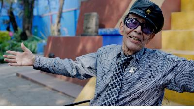 A 97-Year-Old Mexican Jazz Drummer's Latest Gig