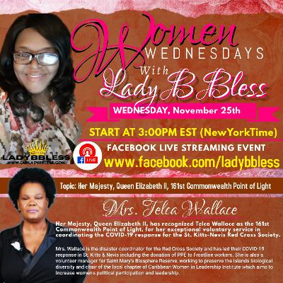 #17 November 25, 2020 - (Mrs. Telca Wallace) Women Wednesdays