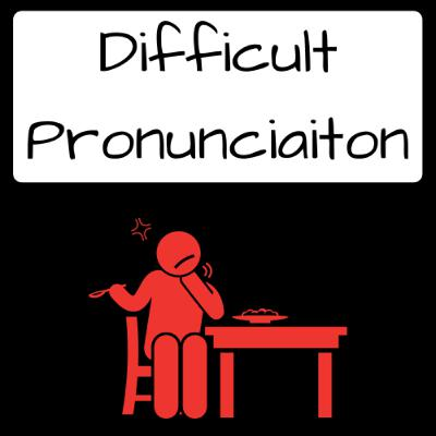 Difficult words to pronounce in English- Part 1