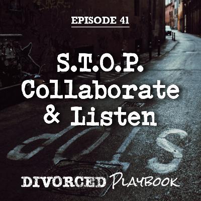 Ep 41: S.T.O.P. Collaborate & Listen