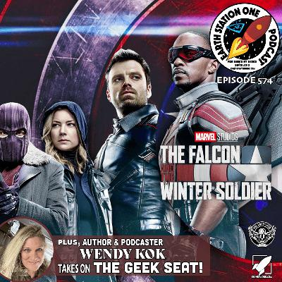 The Earth Station One Podcast - The Falcon and The Winter Soldier Series Review